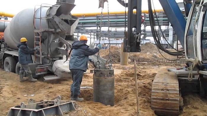 Буронабивные сваи бетон бетон дв хабаровск